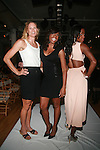 U.S. Olympians Susan Francia,  Hazel Clark and Deedee Trotter Attend Boy Meets Girl Forever Young Fashion Show Held at Style 360, NY D. Salters WENN 9/12/12