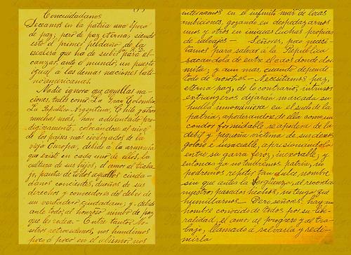 Manuscrito de Sil Adrover. Baní, octubre 18, 1914