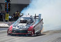Sep 18, 2016; Concord, NC, USA; NHRA funny car driver Tim Wilkerson during the Carolina Nationals at zMax Dragway. Mandatory Credit: Mark J. Rebilas-USA TODAY Sports
