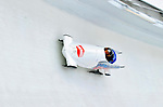 18 December 2010: Anastasia Skulkina pilots her 2-man bobsled for Russia, finishing in 12th place at the Viessmann FIBT World Cup Bobsled Championships on Mount Van Hoevenberg in Lake Placid, New York, USA. Mandatory Credit: Ed Wolfstein Photo