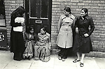 Grunwick Strike North London UK. 1977. Women on left is holding a &quot;Grunwick Strike Committee APEX&quot; leaflet.