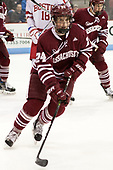 Shane Bear (UMass - 24) - The Boston University Terriers defeated the University of Massachusetts Minutemen 3-1 on Friday, February 3, 2017, at Agganis Arena in Boston, Massachusetts.The Boston University Terriers defeated the visiting University of Massachusetts Amherst Minutemen 3-1 on Friday, February 3, 2017, at Agganis Arena in Boston, MA.