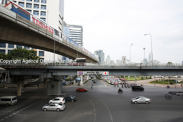 Bangkok, Thailand in December 2016 after the King's death