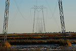 power lines between Woodland and Sacramento