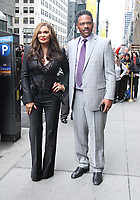 NEW YORK, NY April 21, 2017 Tina Knowles Larson, Richard Lawson attend Variety's Power of Women NY Presented by Lifetime, at Cipriani Midtown in New York April 21,  2017. Credit:RW/MediaPunch