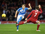 Aberdeen v St Johnstone&hellip;10.12.16     Pittodrie    SPFL<br />Liam Craig and Kenny McLean<br />Picture by Graeme Hart.<br />Copyright Perthshire Picture Agency<br />Tel: 01738 623350  Mobile: 07990 594431