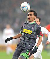 FUSSBALL   1. BUNDESLIGA  SAISON 2011/2012   19. Spieltag   29.01.2012 VfB Stuttgart - Borussia Moenchengladbach    Juan Arango (Borussia Moenchengladbach)