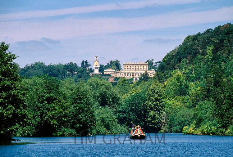 Cliveden House historic stately home by the River Thames in Berkshire, England, UK
