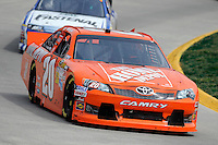 30 March - 1 April, 2012, Martinsville, Virginia USA.Joey Logano, The Home Depot Toyota Camry.(c)2012, Scott LePage.LAT Photo USA