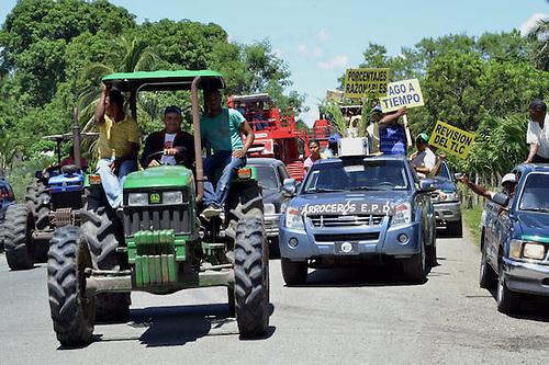 """Productores de arroz: """"E' quebrao' que tamo, por culpa del Gobierno"""""""