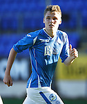 St Johnstone FC....Season 2015-16<br /> Greg Kerr<br /> Picture by Graeme Hart.<br /> Copyright Perthshire Picture Agency<br /> Tel: 01738 623350  Mobile: 07990 594431