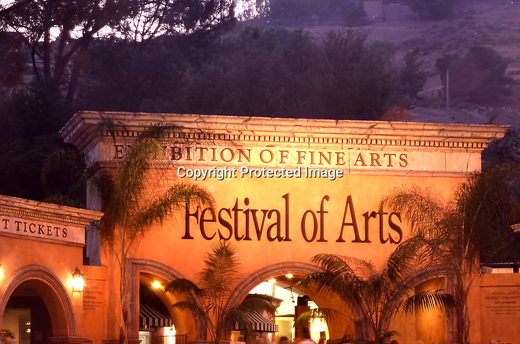 Stock Photo pageant of the masters Laguna Beach