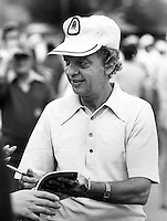 Actor Don Knotts at celebrity golf outing.in 1974.<br />