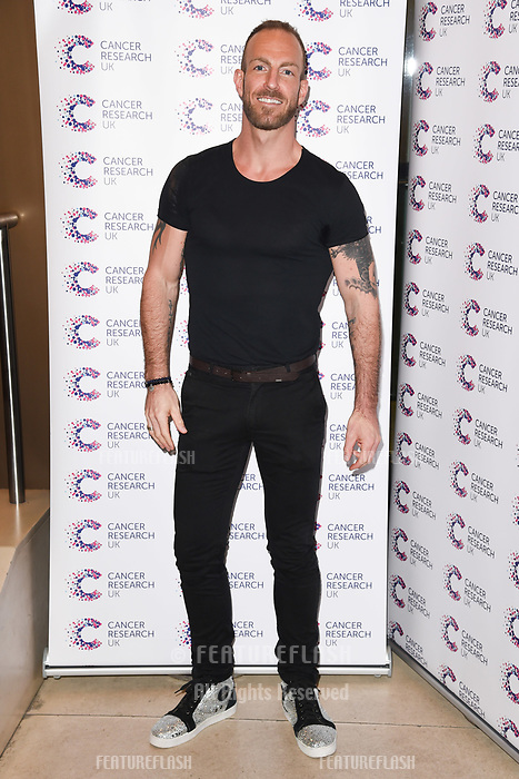 James Ingham arriving at James Ingham&rsquo;s Jog On to Cancer, in aid of Cancer Research UK at The Roof Gardens in Kensington, London.  <br /> 12 April  2017<br /> Picture: Steve Vas/Featureflash/SilverHub 0208 004 5359 sales@silverhubmedia.com