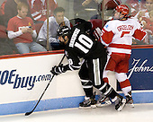 Mark Jankowski (PC - 10), Matt Grzelcyk (BU - 5) - The Boston University Terriers defeated the visiting Providence College Friars 4-2 (EN) on Saturday, December 13, 2012, at Agganis Arena in Boston, Massachusetts.