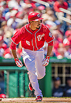 27 April 2014: Washington Nationals catcher Anthony Rendon in action against the San Diego Padres at Nationals Park in Washington, DC. The Padres defeated the Nationals 4-2 to to split their 4-game series. Mandatory Credit: Ed Wolfstein Photo *** RAW (NEF) Image File Available ***