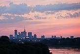 Stadtansicht Warschau, an der Weichsel / Cityscape Warsaw, near Vistula
