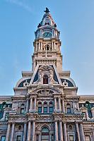 City Hall, Clock Tower, Philadelphia, PA