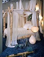 Cher's Bed Display, Mimi London Design, lifestyle Vignette; decor; .jpg