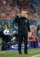 Football Soccer: UEFA Champions League semifinal second leg Juventus - Monaco, Juventus stadium, Turin, Italy,  May 9, 2017. <br /> Monaco's coach Leonardo Jardim gestures to bis players during the Uefa Champions League football match between Juventus and Monaco at Juventus stadium, on May 9, 2017.<br /> UPDATE IMAGES PRESS/Isabella Bonotto