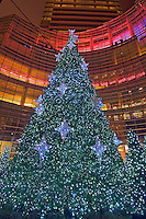 Bloomberg Tower, New York City, NY, Architect: Cesar Pelli and Associates, Beacon Court, Christmas Tree