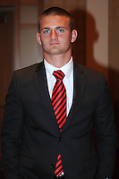 D.C. United defender Perry Kitchen,at the United Kickoff luncheon, at the Marriott hotel in Washington DC, March 5, 2012.