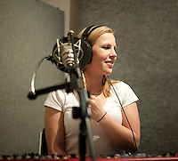 Whitney Nichole '100 Strong' Pre-Production at Adam Rossi Audio - April 21, 2010