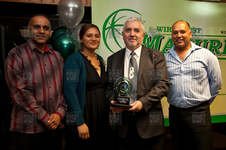 Inaugural Wiri Licensing Trust Manurewa Sports Awards held at the Weymouth Cosmopolitan Club on Sunday April 11th 2010.