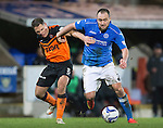 St Johnstone v Dundee United...27.12.14   SPFL<br /> Lee Croft and John Rankin<br /> Picture by Graeme Hart.<br /> Copyright Perthshire Picture Agency<br /> Tel: 01738 623350  Mobile: 07990 594431