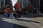 People take part of the annual Thanksgiving day parade in New York, November 22, 2012. . Photo by Eduardo Munoz Alvarez / VIEWpress