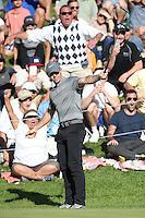 February 21, 2016: Rory McIlroy during the final round of the Northern Trust Open, Pacific Palisades,CA. Michael Zito/ESW/CSM