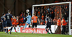 Dundee Utd denied by the post