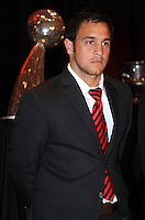 D.C. United midfielder Danny Cruz,at the United Kickoff luncheon, at the Marriott hotel in Washington DC, March 5, 2012.