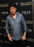 "NEW YORK, NY - August 15 :Joshua Bell attends the New York screening for "" A )Tale of Love and Darkness"" on august 15, 2016 at the Crosby Hotel in New York City.  Photo Credit:John Palmer/ MediaPunch"