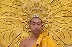 Monk, Yangon, Myanmar