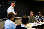 Prof. Bill Evans in class