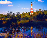 Chincoteague Light, Chincoteague Island National Wildlife Refuge, Virginia    Finished in 1867