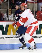 Anthony Bergin (Toronto - 27), Ryan Ruikka (BU - 2) - The Boston University Terriers defeated the visiting University of Toronto Varsity Blues 9-3 on Saturday, October 2, 2010, at Agganis Arena in Boston, MA.