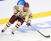 Quinn Smith (BC - 27) - The Boston College Eagles defeated the Air Force Academy Falcons 2-0 in their NCAA Northeast Regional semi-final matchup on Saturday, March 24, 2012, at the DCU Center in Worcester, Massachusetts.