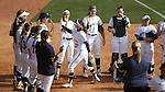 17 February 2017: Notre Dame's Ali Wester (37) is introduced before the game. The Notre Dame Fighting Irish played the University of Minnesota Golden Gophers at Dail Softball Stadium in Raleigh, North Carolina as part of the ACC/Big 10 College Softball Challenge. Minnesota won the game 4-1