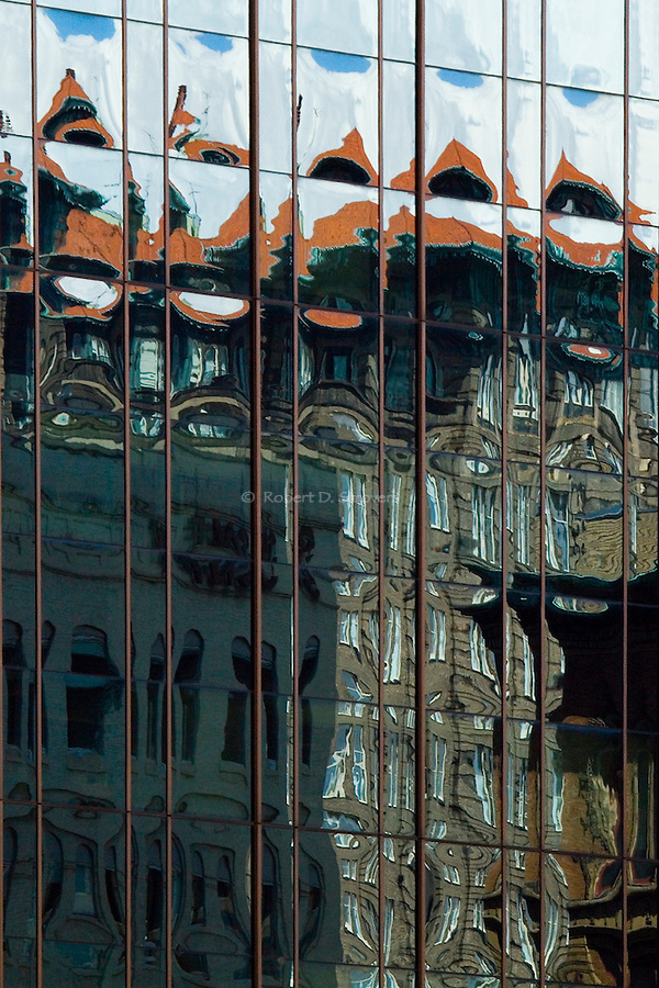 pittsburgh architectural reflections - old and new