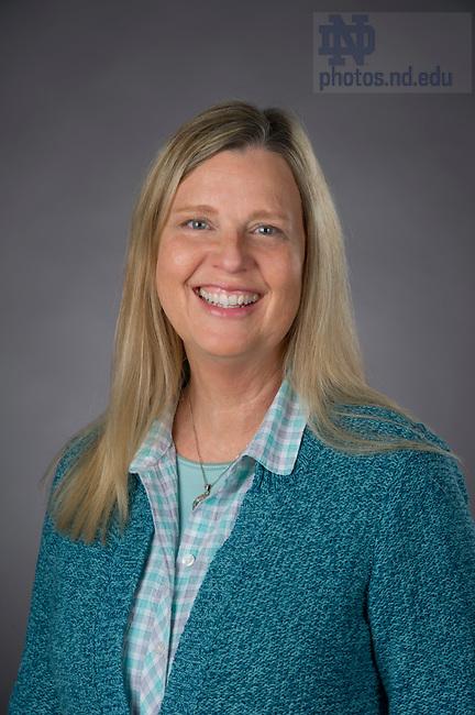 Jan. 21, 2015; Wendy Settle, University Counseling Center. (Photo by Barbara Johnston/University of Notre Dame)