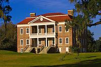 Plantation house, Drayton Hall plantation, Charleston, South Carolina