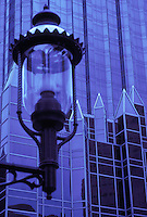 gas lamp PPG building Pittsburgh PA