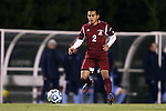 25 November 2012: FDU's Jaeffrey Barrenechea. The University of North Carolina Tar Heels played the Farleigh Dickinson Knights at Fetzer Field in Chapel Hill, North Carolina in a 2012 NCAA Division I Men's Soccer Tournament third round game. UNC won the game 1-0 in overtime.