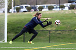 CHARLOTTE, NC - MARCH 25: Courage's Katelyn Rowland. The NWSL's North Carolina Courage played their first preseason game against the University of Tennessee Volunteers on March 25, 2017, at Queens University of Charlotte Sports Complex in Charlotte, NC. The Courage won the match 3-0.