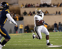 Pitt running back Dion Lewis. The West Virginia Mountaineers defeated the Pittsburgh  Panthers 19-16 on November27, 2009 at Mountaineer Field at Milan Puskar Stadium, Morgantown, West Virginia.