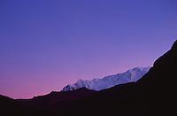 Dawn on Ausangate (6384 m), Vinicunca, Peru, 2016.