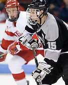 Kyle MacKinnon (Providence - 15) - The Boston University Terriers defeated the visiting Providence College Friars 2-1 on Saturday, October 23, 2010, at Agganis Arena in Boston, Massachusetts.