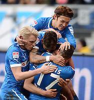 Fussball Bundesliga 2012/13: Hoffenheim - Freiburg